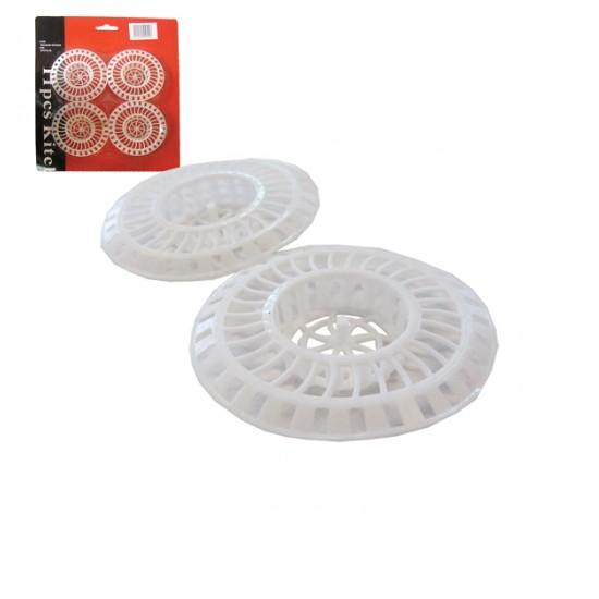 Σετ 4 φίλτρα σκουπιδιών νεροχύτη 00101094