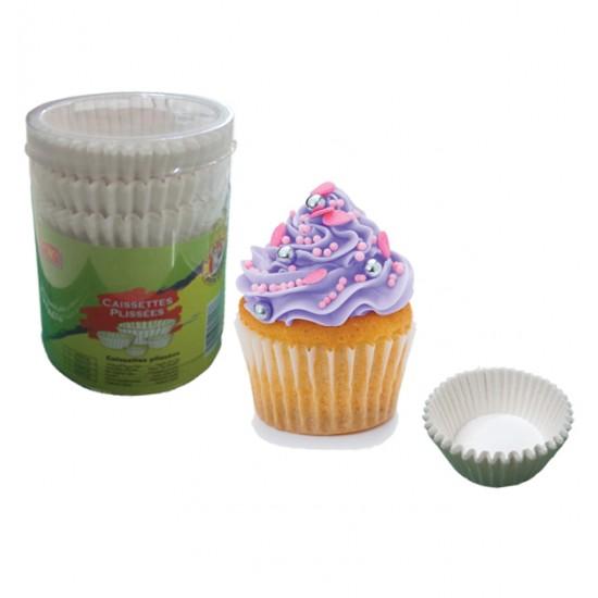Σετ 150 πτυχωτά χαρτάκια cupcake για φούρνο 00101197