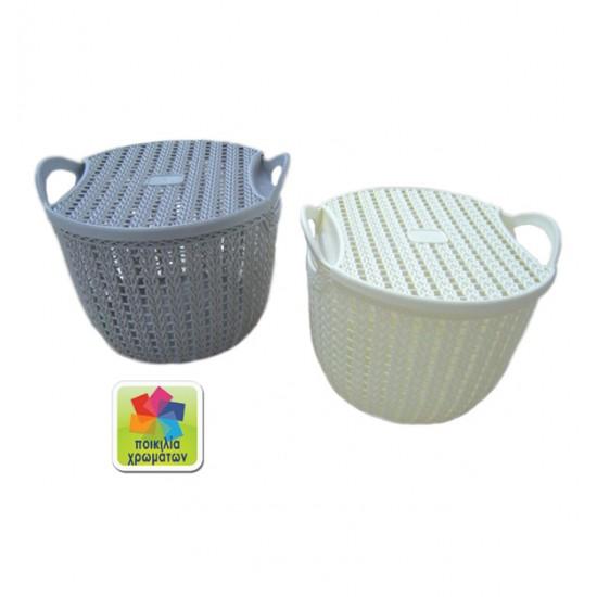 Πλαστικό καλάθι με καπάκι 00105036