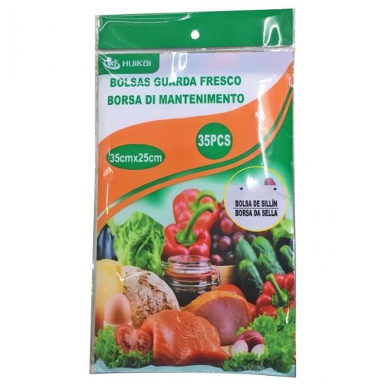 Σετ 80 σακούλες τροφίμων 25x16cm 00405183