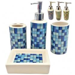 Κεραμικό σετ μπάνιου 4 τεμαχίων 00401073