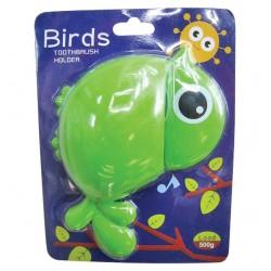 Αναρτώμενη παιδική θήκη για οδοντόβουρτσες σε σχήμα πουλιού 00402502