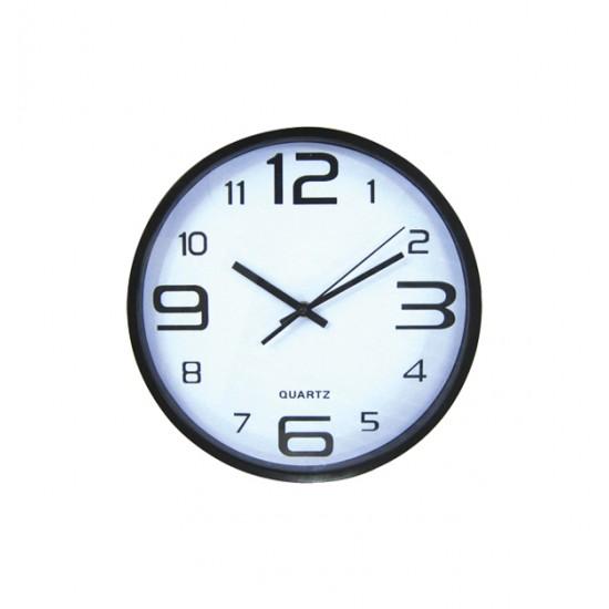 Στρογγυλό ρολόι τοίχοι 30cm 10302094