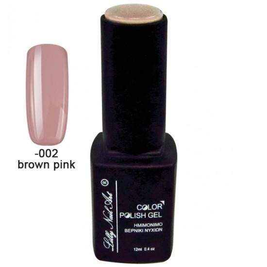 Ημιμόνιμο τριφασικό μανό 12ml - Brown pink 40504008-002