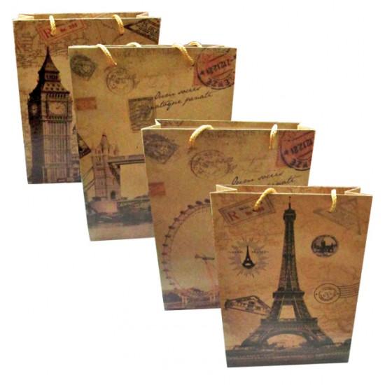 Χάρτινη τσάντα-σακούλα δώρου 14x11,5cm 11401230