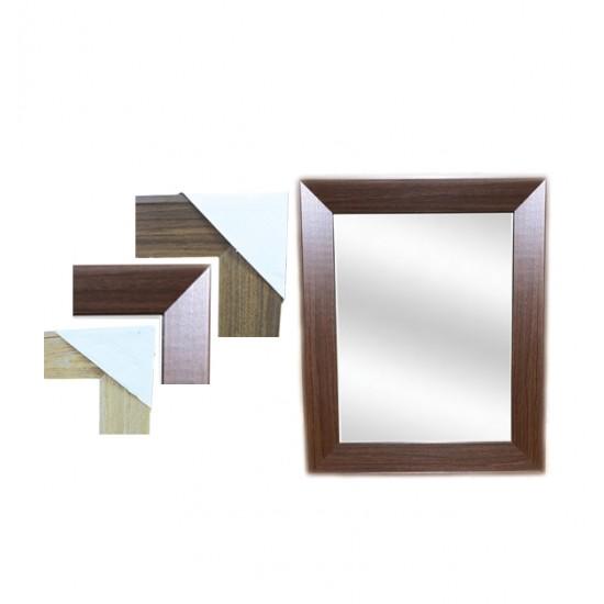 Καθρέφτης επιτοίχιος ξύλινο κάδρο 35 x 45 εκ. 11502032