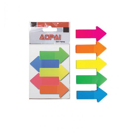 Αυτοκόλλητα χαρτάκια βέλος 30201068