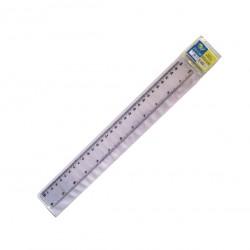 Χάρακας πλαστικός διάφανος 30cm 30201078