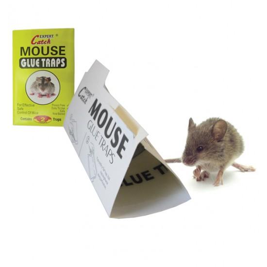 Σετ 2 αυτοκόλλητες ποντικοπαγίδες 30501253