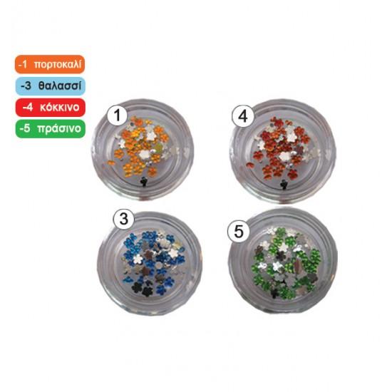 Στρασάκια Diamantino λουλουδάκια 40502008