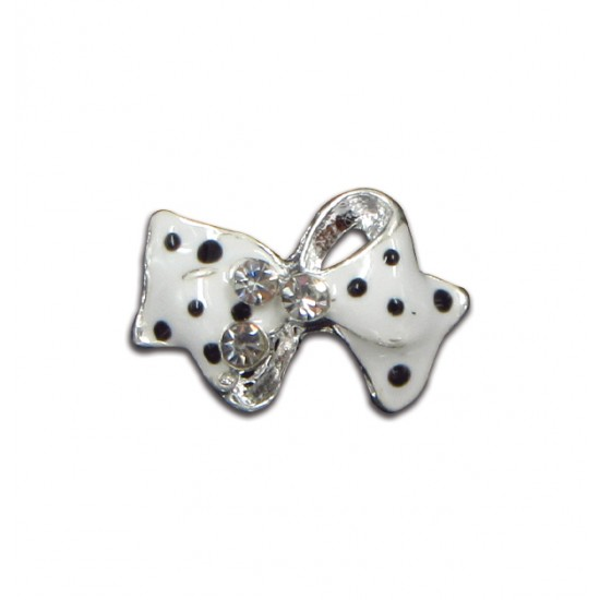 Μεταλλικό διακοσμητικό νυχιών φιόγκος πουά40502057-277