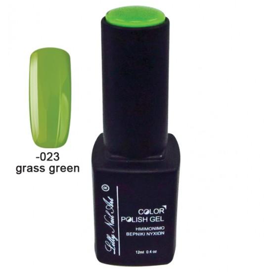Ημιμόνιμο τριφασικό μανό 12ml - Grass green 40504008-023