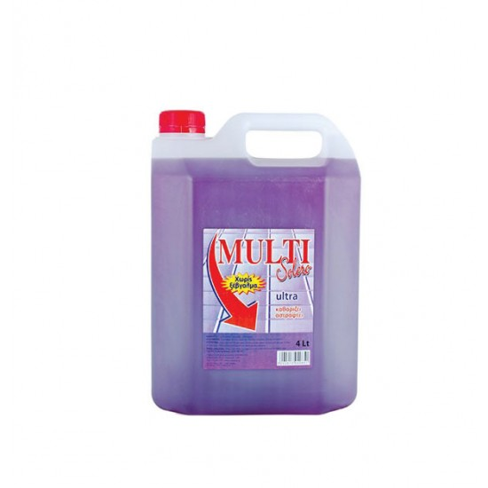 Υγρό γενικού καθαρισμού Solero Multi 4lt λεβάντα 40605038