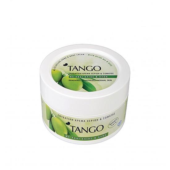 Κρέμα χεριών και σώματος Tango με λάδι ελιάς και αλόη 250ml 40605091
