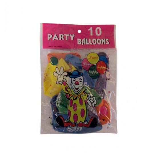 Σετ 10 μπαλόνια Happy Birthday 10507037