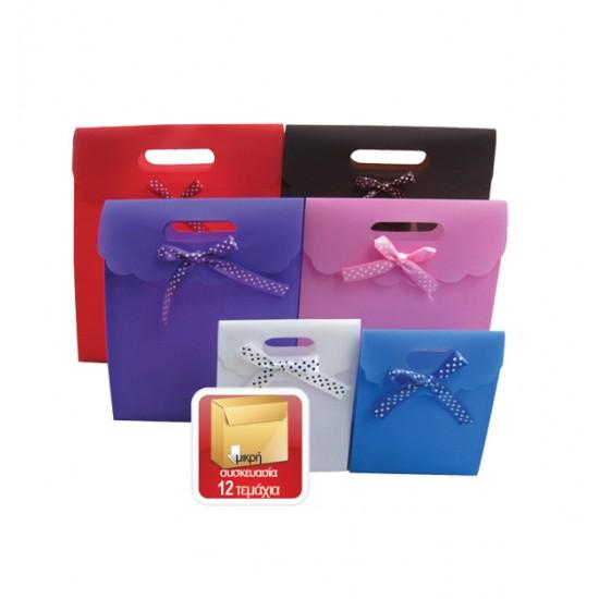 Πλαστική τσάντα - σακούλα δώρου φάκελος 31x25cm 11401087