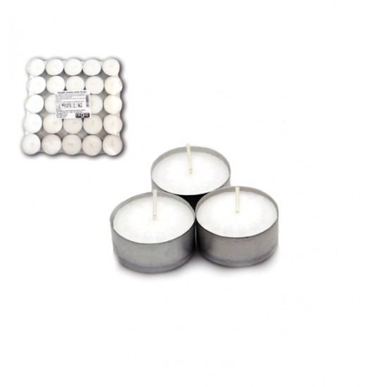 Συσκευασία 50 ρεσό 4 ωρών καύσης λευκά 70101403