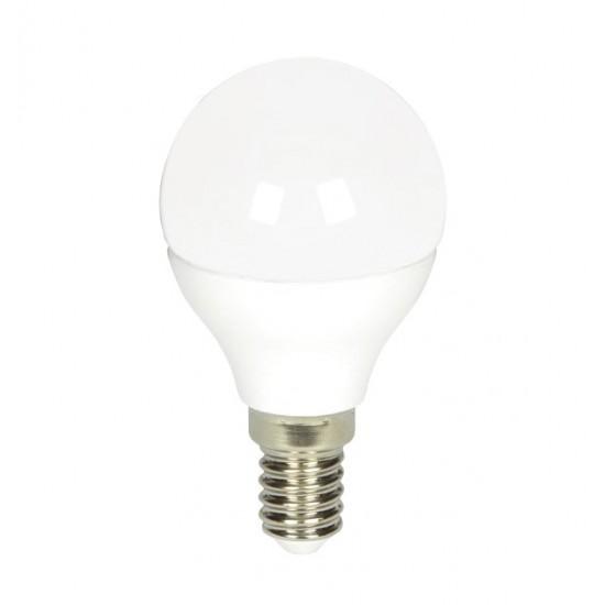 Λευκή βιδωτή λάμπα led γλόμπος 6W 3000K 70701055