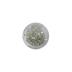400 πράσινα στρας στρογγυλά διαμαντάκια 40502009-2