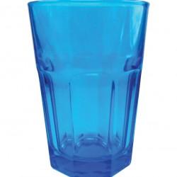 Μπλέ γυάλινο ποτήρι νερού 70301036