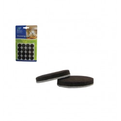 Σετ 32 στρογγυλά αυτοκόλλητα προστατευτικά τσοχάκια επίπλων 30501216