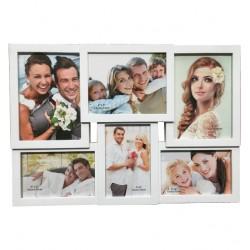 Πλαστική κορνίζα κολλάζ για 6 φωτογραφίες 10401240