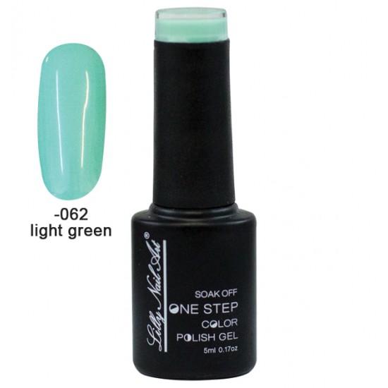 Ημιμόνιμο μανό one step 5ml - Light Green 40504002-062