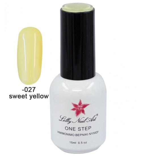 Ημιμόνιμο μανό one step 15ml - Sweet yellow 40504001-027