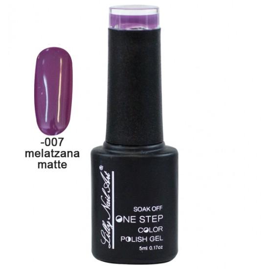 Ημιμόνιμο μανό one step 5ml - Melatzana matte 40504002-007