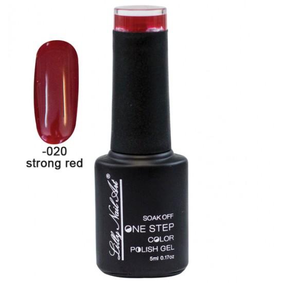 Ημιμόνιμο μανό one step 5ml - Strong red 40504002-020