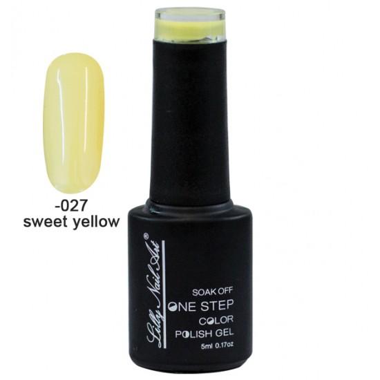 Ημιμόνιμο μανό one step 5ml - Sweet yellow 40504002-027