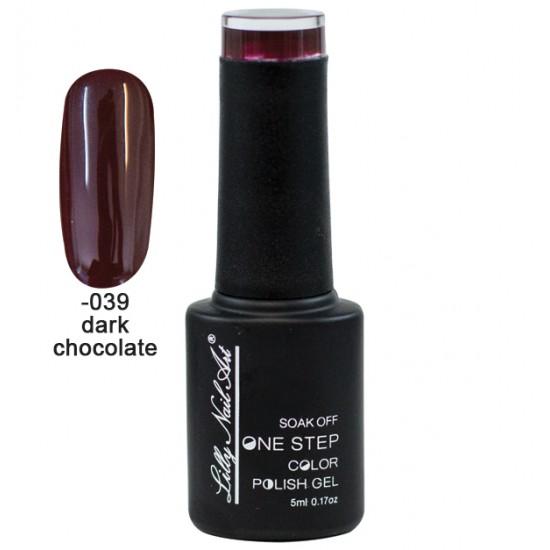 Ημιμόνιμο μανό one step 5ml - Dark chocolate 40504002-039