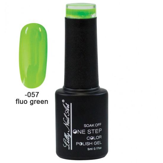 Ημιμόνιμο μανό one step 5ml - Fluo green 40504002-057