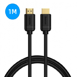 Baseus CAKGQ-A01 high definition Series HDMI To HDMI Adapter Cable 1m Μαύρο