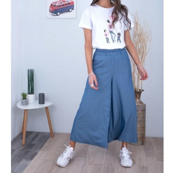 Παντελόνι ζιπ-κιλότ - 2099865