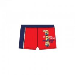Παιδικό Μαγιό Boxer Χρώματος Κόκκινο Minions Disney EP1871