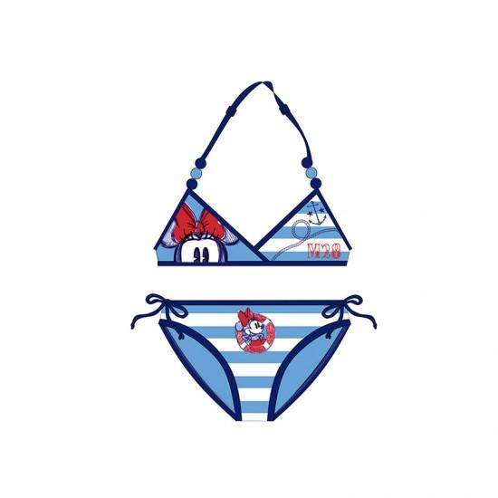 Παιδικό Μαγιό Μπικίνι Χρώματος Μπλε Minnie Disney WD11030