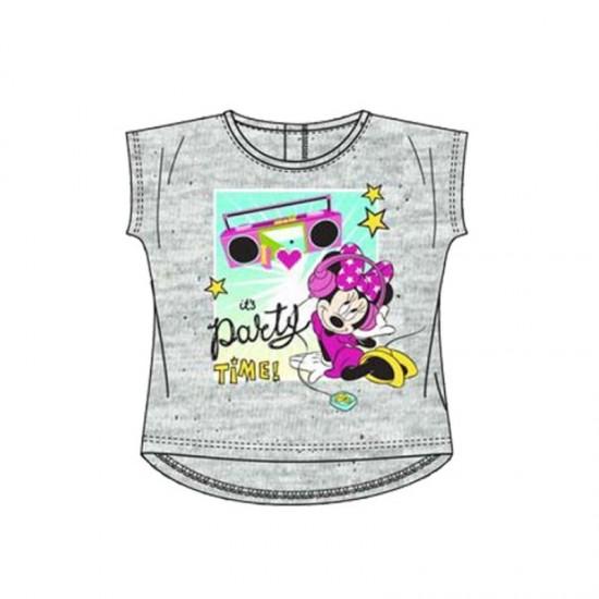 Βρεφικό T-shirt Χρώματος Γκρι Minnie Disney EP0073