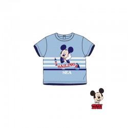 Βρεφικό T-shirt Χρώματος Μπλε Mickey Disney AQE0277
