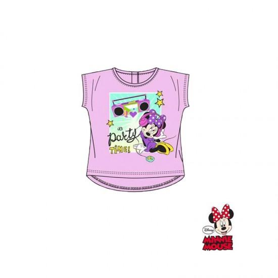 Βρεφικό T-shirt Χρώματος Ροζ Minnie Disney EP0073