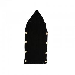 Βρεφική Κουβέρτα - Υπνόσακος 70 x 39 cm Χρώματος Μαύρο SPM DB3603