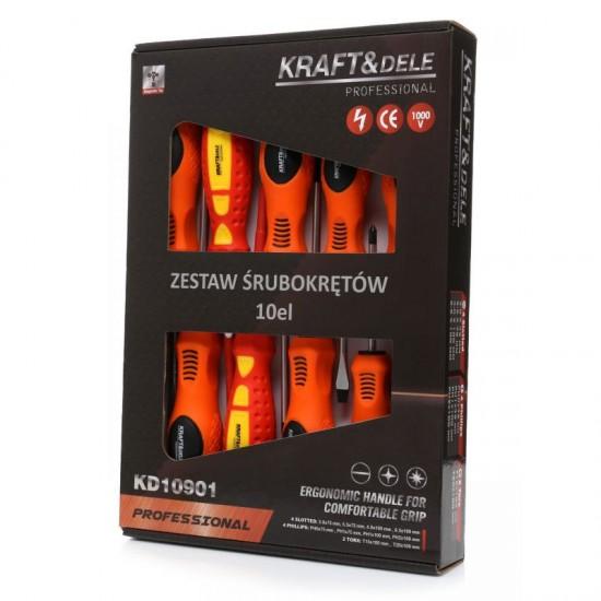 Σετ Κατσαβίδια 10 τμχ Kraft&Dele KD-10901