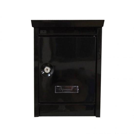 Γραμματοκιβώτιο 30.8 x 21.5 x 9 cm Χρώματος Μαύρο Hoppline HOP1000965-1