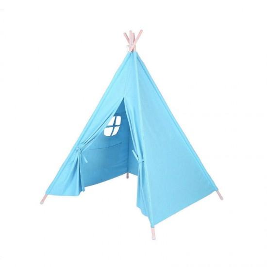 Παιδική Ινδιάνικη Σκηνή 150 x 155 x 130 cm Χρώματος Μπλε Hoppline HOP1000941-3
