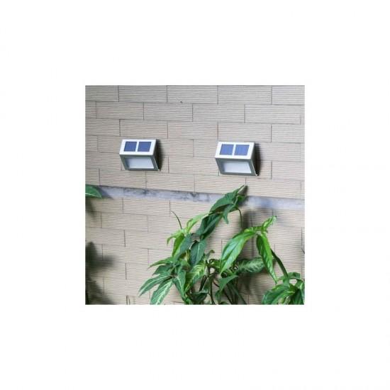 Ηλιακά Φώτα με Λευκό LED Φωτισμό 4 τμχ Hoppline HOP1000964-1