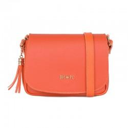Γυναικεία Τσάντα Χιαστί Χρώματος Πορτοκαλί Beverly Hills Polo Club 1107 668BHP0152