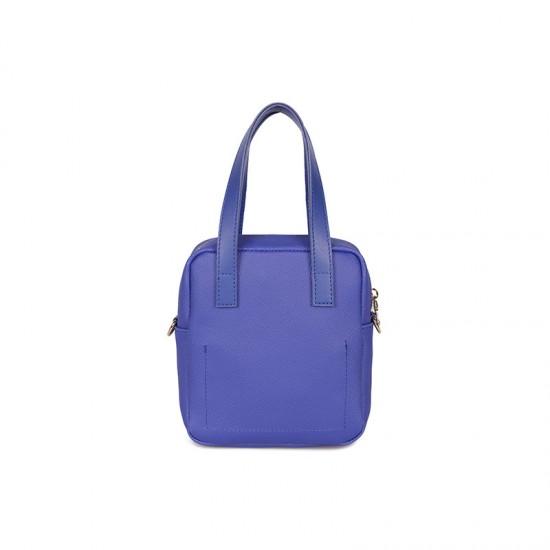Γυναικεία Τσάντα Χειρός Χρώματος Μπλε Beverly Hills Polo Club 1106 668BHP0146