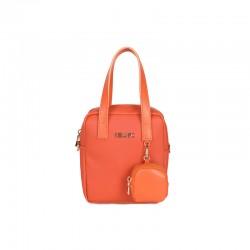 Γυναικεία Τσάντα Χειρός Χρώματος Πορτοκαλί Beverly Hills Polo Club 1106 668BHP0144