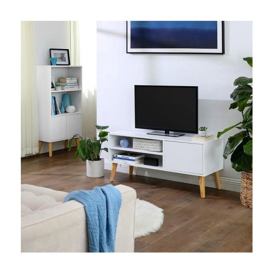 Ξύλινο Έπιπλο Τηλεόρασης 110 x 40 x 49.5 cm VASAGLE LTV09WT