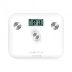 Ψηφιακή Ζυγαριά Μπάνιου - Λιπομετρητής Cecotec Surface Precision EcoPower 10100 Full Healthy Χρώματος Λευκό CEC-04252